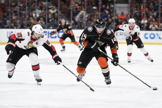 Anaheim Ducks şi Ottawa Senators s-au întâlnit în direct la Telekom Sport, într-o reeditare a finalei Cupei Stanley din 2007