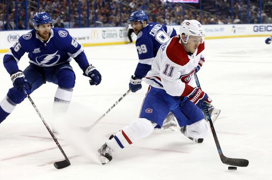 Victorie muncită, dar extrem de meritată, pentru liderul NHL, Tampa Bay Lightning, 3-1 cu Montreal