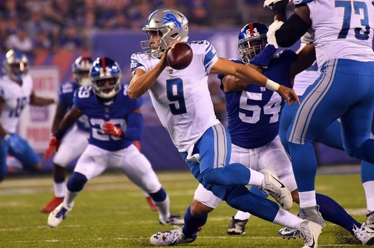 Show la New York | Detroit s-a distrat cu Giants în Monday Night Football VIDEO