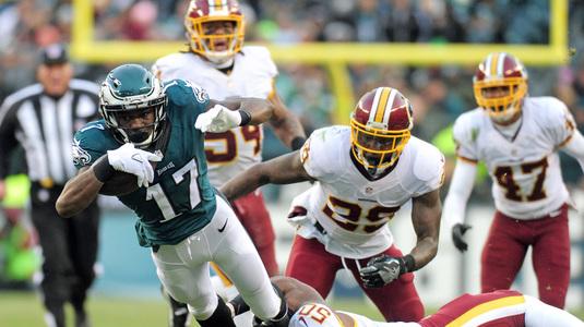 Philadelphia Eagles şi Washington Redskins au oferit un spectacol cu şapte touchdownuri