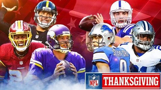 VIDEO | Spectacol, marca NFL. Topul celor mai frumoase faze din meciurile de Thanksgiving Day