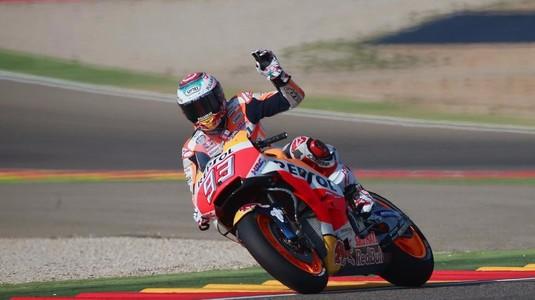 Motot GP: Marc Marquez a câştigat Marele Premiu al Aragonului