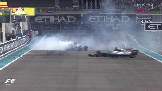 VIDEO   S-a terminat sezonul de F1. Bottas s-a impus în ultima etapă. Vezi cum au sărbătorit piloţii Mercedes!