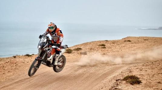 Emanuel Gyenes, locul 31 în etapa a şasea a Raliului Dakar 2018
