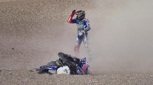 VIDEO - Momente încordate pe circuit între doi piloţi de la MotoGP