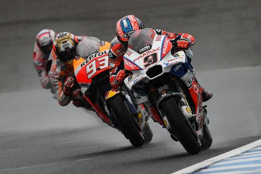 Andrea Dovizioso a câştigat Marele Premiu al Japoniei la MotoGP - Video