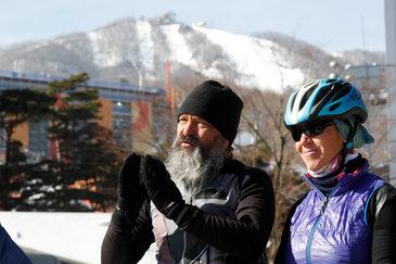 """Gest extrem al unui cuplu! Ce au făcut doi elveţieni pentru a-şi vedea fiul concurând la Jocurile Olimpice: """"Ştiu, suntem nebuni!"""""""