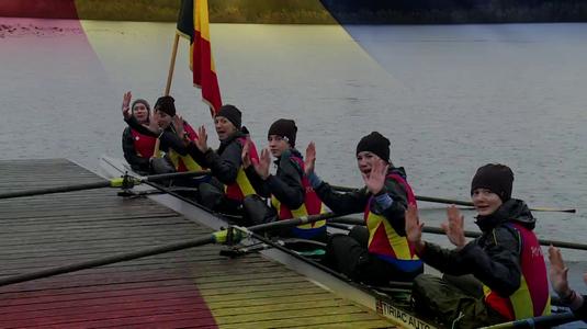 """VIDEO EXCLUSIV   Urarea echipajului feminin de 8+1 de 1 Decembrie: """"Pe ploaie, pe vânt, ieşim la antrenament pentru România"""""""