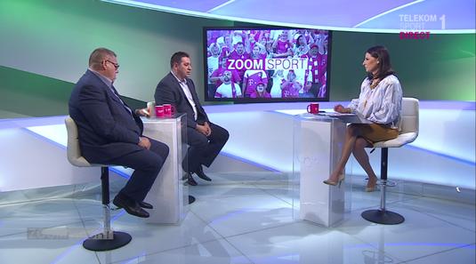 VIDEO   Gheorghe şi Marian Simon au fost invitaţii Geaninei Iacob la Zoom Sport