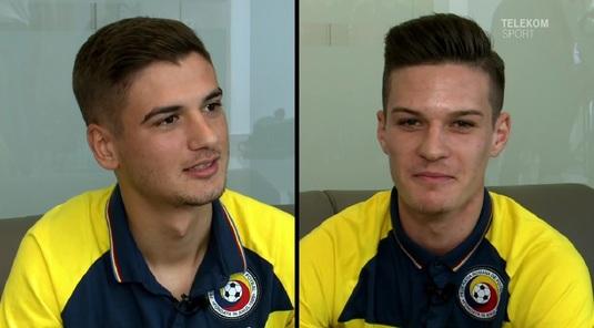 Joc de întrebări! VIDEO | Puştii FCSB de la naţionala U21 au acceptat provocarea Telekom Sport