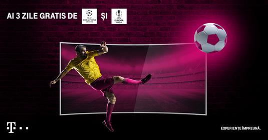 Vezi GRATUIT ultima etapă din Liga Campionilor şi meciurile de la CM handbal pe telekomtv.ro. Aici ai toate detaliile