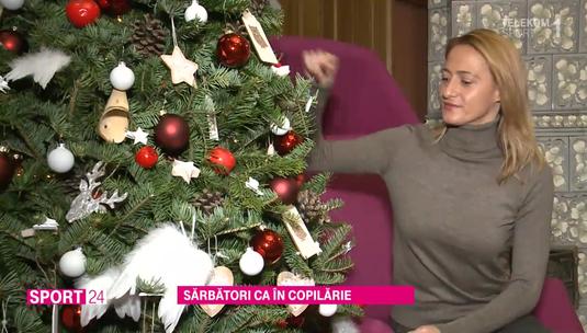 VIDEO   Moş Crăciun n-a ocolit-o niciodată pe Camelia Potec. Ce-şi doreşte pentru noul an