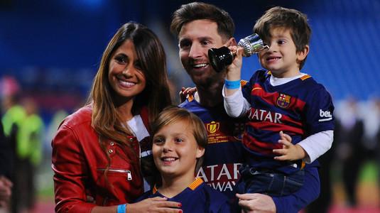 Hat-trick pentru Messi! Soţia starului argentinian a anunţat că e însărcinată din nou