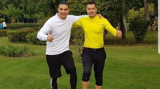 VIDEO Iulian Miu dă totul în programele de antrenament stabilite de preparatorul Alexander Florescu