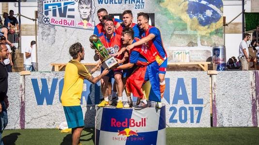Trei jucători de la Victory Cup merg la Paris, la invitaţia lui Neymar
