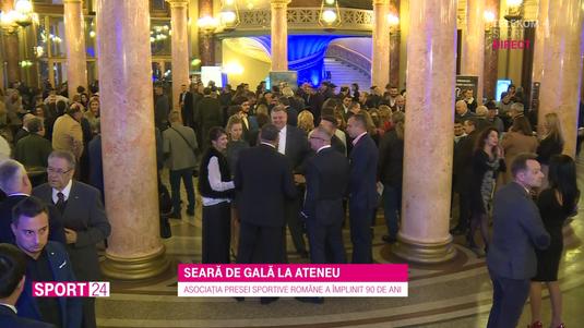 VIDEO | 90 de ani de la înfiinţarea Asociaţiei Presei Sportive Române. Multe nume importante la eveniment