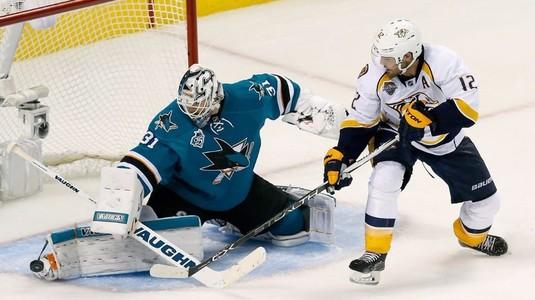 VIDEO | San Jose Sharks a făcut spectacol cu Nashville Predators