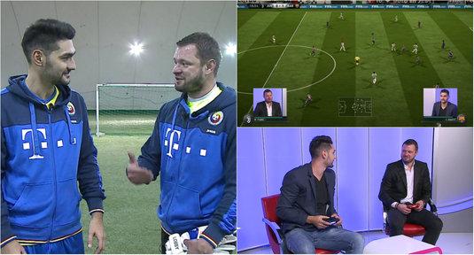 E-PLAY | FIFA vs Fotbal: Ovvy, faţă în faţă cu Marius Niculae! Duel la FIFA 18 şi pe gazon între doi campioni | VIDEO EXCLUSIV