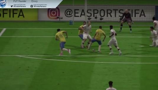 VIDEO | Cel mai tare dribling din FIFA 18. Învaţă cum să-l faci de la Ovvy, cel mai cunoscut jucător din România
