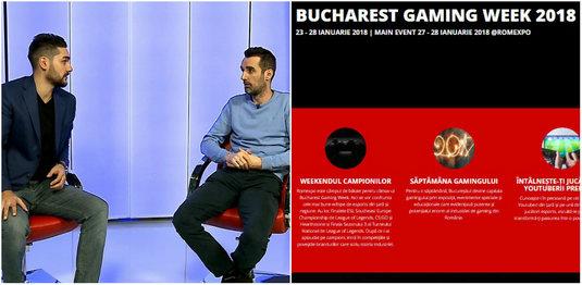 VIDEO | Totul despre Bucharest Gaming Week, cel mai tare eveniment dedicat gamerilor! Câştigă invitaţii la eveniment