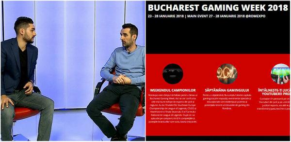 VIDEO | Totul despre Bucharest Gaming Week, cel mai tare eveniment dedicat gamerilor! Cine