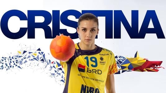 """Cristina Florianu, MVP-ul partidei cu Paraguay, la Telekom Sport: """"De mâine începe greul"""""""