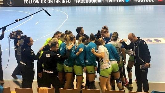 Surpriză URIAŞĂ la Mondialul de handbal feminin! Înaintea meciului cu România, Slovenia a învins Franţa!