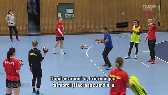 VIDEO | Imagini inedite de la antrenamentul naţionalei! Pe ce a pus accent selecţionerul Ambros Martin după victoria cu Spania