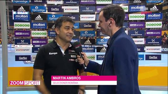 """VIDEO EXCLUSIV   Martin Ambros, fericit că România va întâlni Cehia în optimi: """"Acesta e motivul pentru care am câştigat grupa"""""""