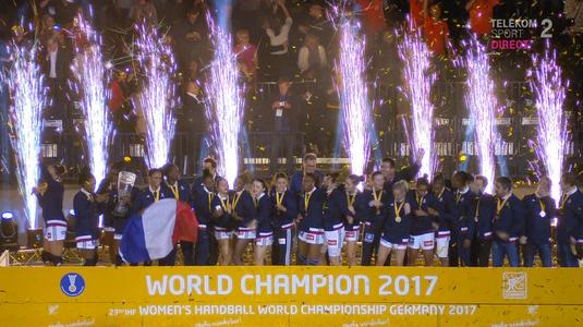 VIDEO | Franţa câştigă titlul mondial după o aşteptare de 14 ani! A învins marea favorită Norvegia în finală, scor 23-21