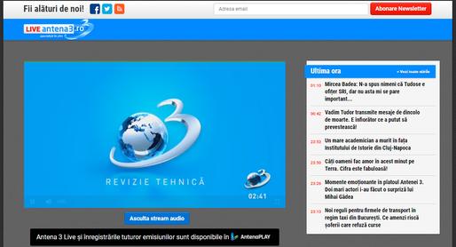 UPDATE Site-ul Antena 3 a folosit automat un miner de criptomonede