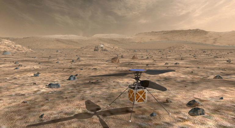 NASA plănuiește să trimită primul elicopter pe Marte
