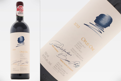 Vinul de azi: Opus One 2013 - 100 puncte James Suckling