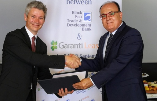 Garanti Leasing a încheiat un acord de finanțare de 10 milioane de euro cu Black Sea Trade and Development Bank