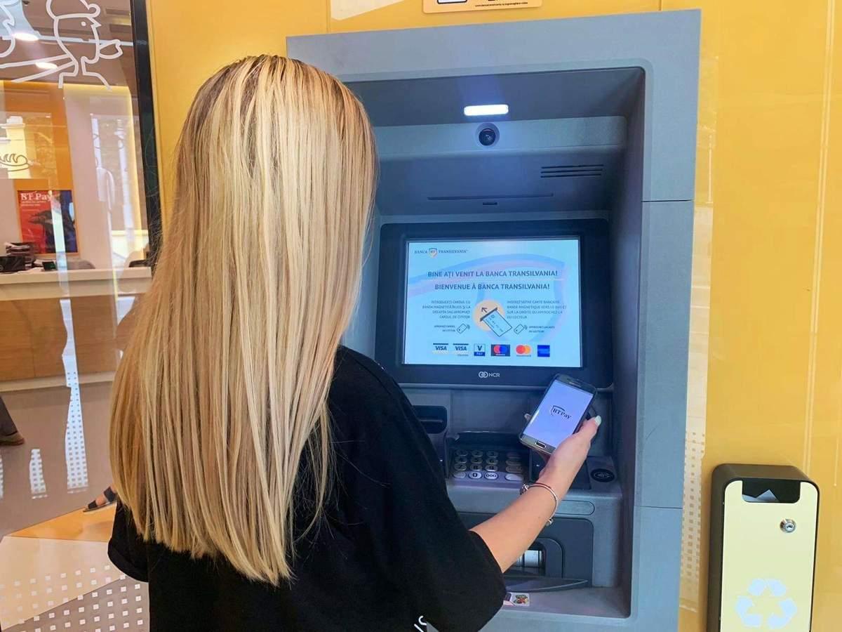 Image result for Banca Transilvania bancomat plata cu telefonul