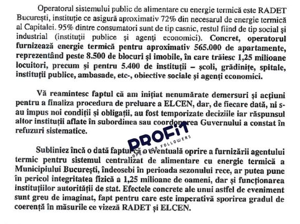 UPDATE ELCEN scapă de faliment - DOCUMENT + VIDEO