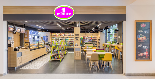 Lagardère Travel Retail a deschis un nou magazin 1 Minute in Iride Business Park
