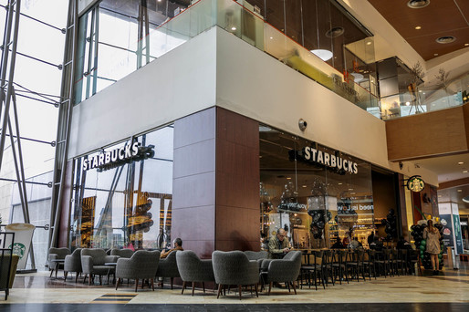 Starbucks a redeschis cafeneaua din Băneasa Shopping City