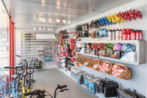 Producătorul român de biciclete Pegas deschide un nou magazin