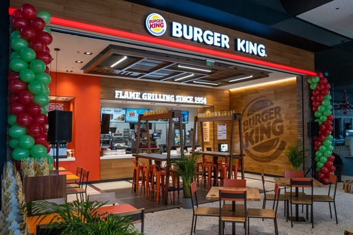 Burger King deschide un nou restaurant