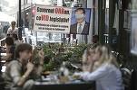 Impianto epidemico per terrazze e ristoranti a Bucarest - zero tasse per l'occupazione di pubblico dominio