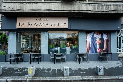 FOTO Grupul ARSIS, cel mai mare retailer independent din piața de telecom, extinde gelateria La Romana