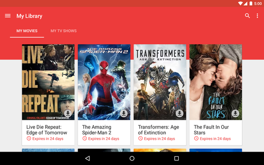 Google Play Movies oferă conținut 4K