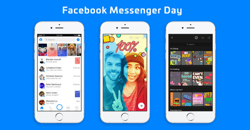 Facebook lansează Messenger Day la nivel global