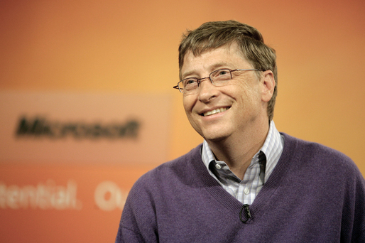 VIDEO Bill Gates folosește un smartphone cu Android