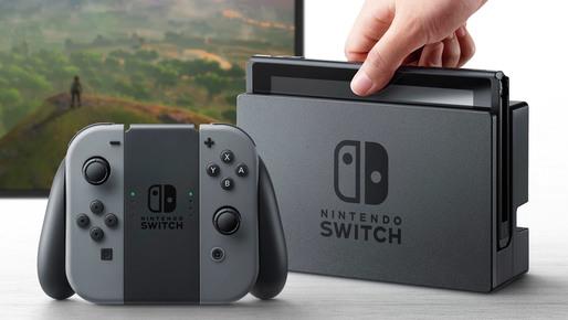 Nintendo a vândut peste 36 milioane de console Switch