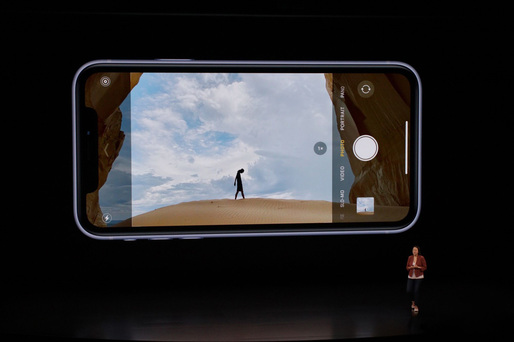 VIDEO Apple a lansat iPhone 11, serie compusă din trei modele