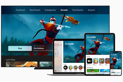 Apple Arcade este disponibil pe versiunea beta de iOS 13