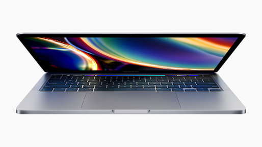 Apple anunță un nou MacBook Pro, cu ecran de 13 inch și Magic Keyboard