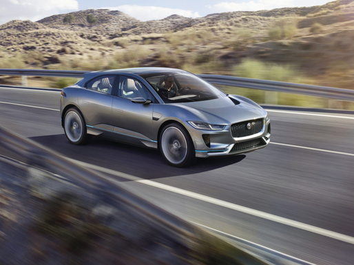 VIDEO Jaguar a prezentat primul său vehicul integral electric, SUV-ul concept I-Pace